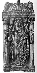 The Empress Ariadne (from a 5th century imperial diptych from Venice)