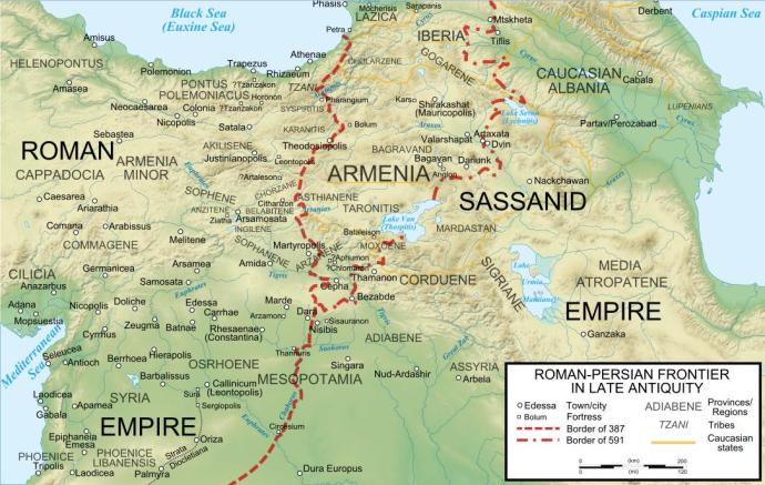 The Roman-Persian frontier in late antiquity