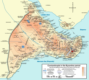 Constantinople in the Byzantine era