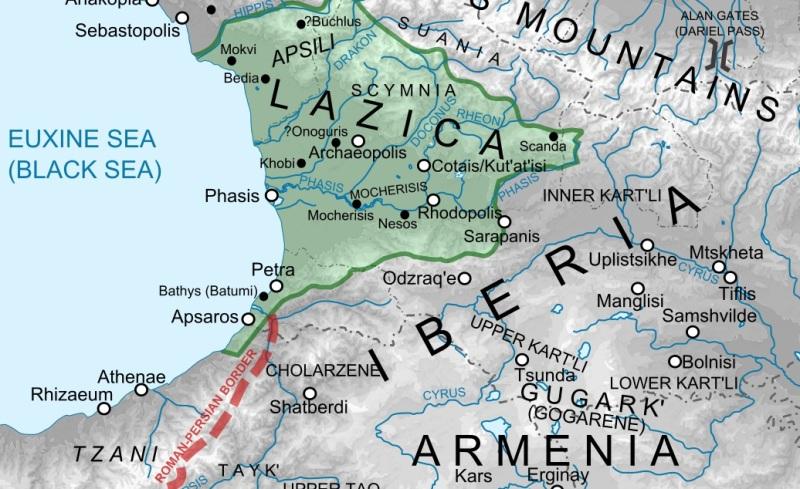 The Lazican Border