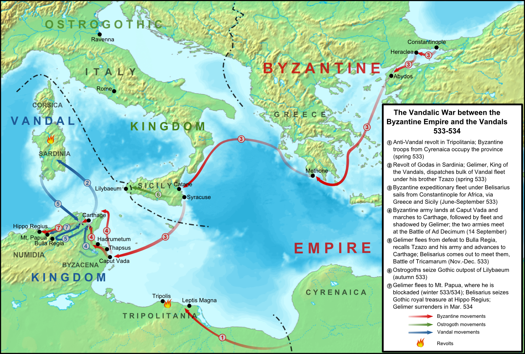 Constantinople World Map