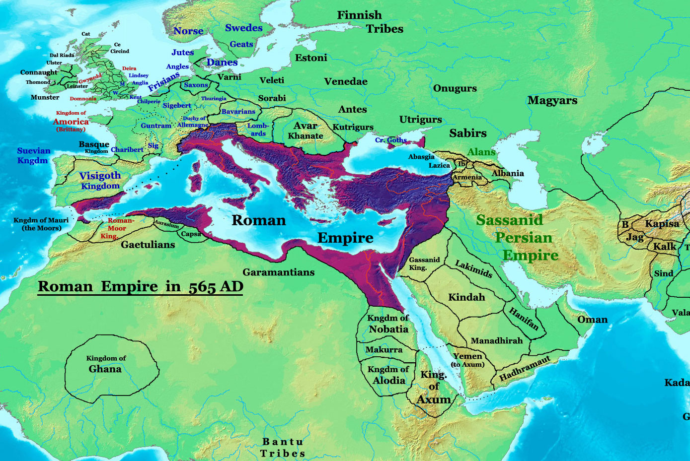 the byzantines The byzantine empire, also referred to as the eastern roman empire.