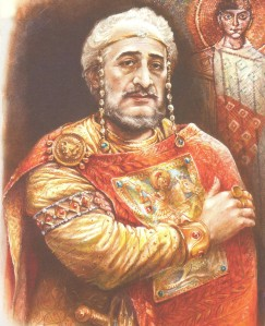 Maurice by Emilian Stankev (from 'Rulers of the Byzantine Empire' published by KIBEA)