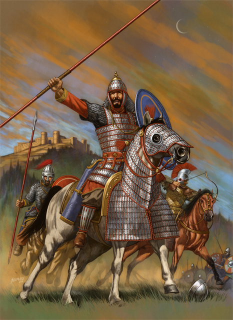 Byzantine cavalry from Ancient Warfare Magazine Volume IV, Issue 3 (www.ancient-warfare.com)