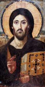 An icon of Christ from Saint Catherine's Monastery, Mount Sinai