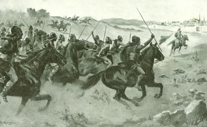 Heraclius flees the Avars (worldhistoryplus.com)