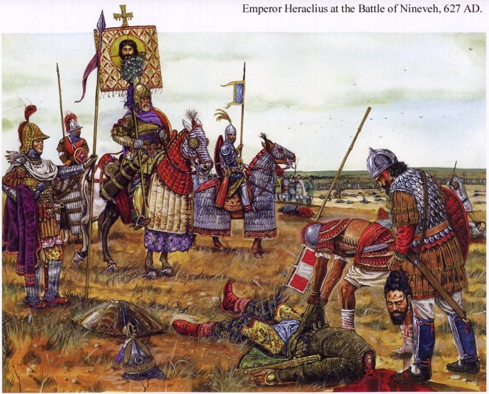 Heraculius at the Battle of Ninevah (stormfront.org, forums)