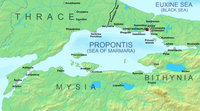 The environs of Constantinople