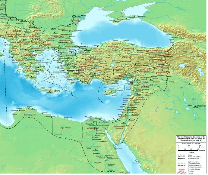 The Eastern provinces (commons.wikimedia.orgwikiUserCplakidas)