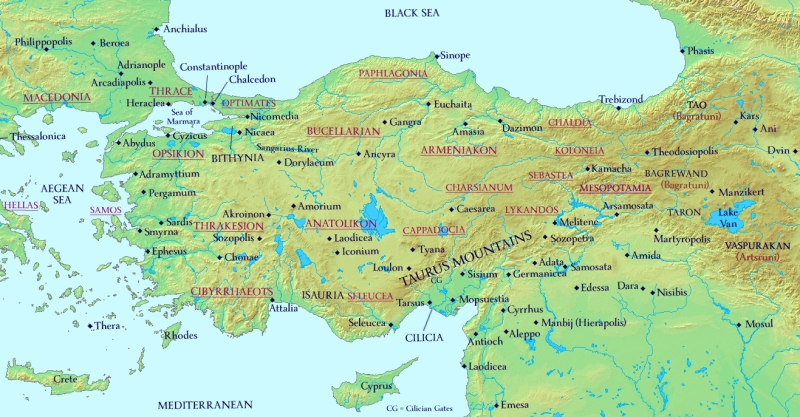 Anatolia 920AD with new Themes