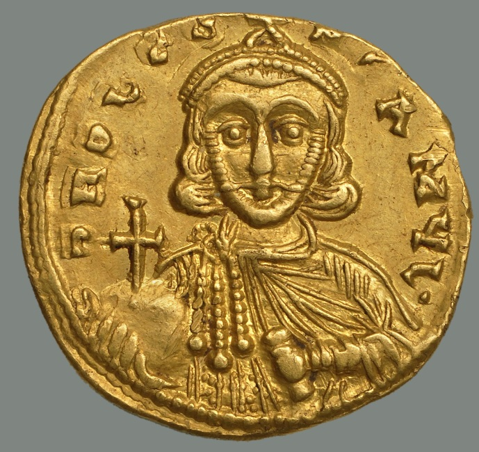 A solidus of Leo III (from the Dumbarton Oaks collection)