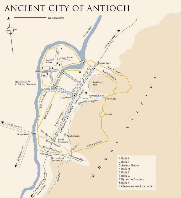 Map of Antioch (mappery.com)