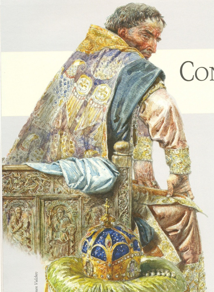 Constantine V by Plamen Vulchev (from 'Rulers of the Byzantine Empire' published by KIBEA)