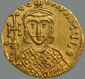 Constantine V (Dumbarton Oaks coin collection)