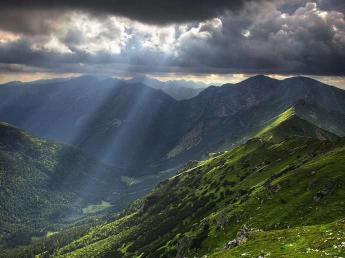 The Balkan Mountains today (from maudestandard.wordpress.com)