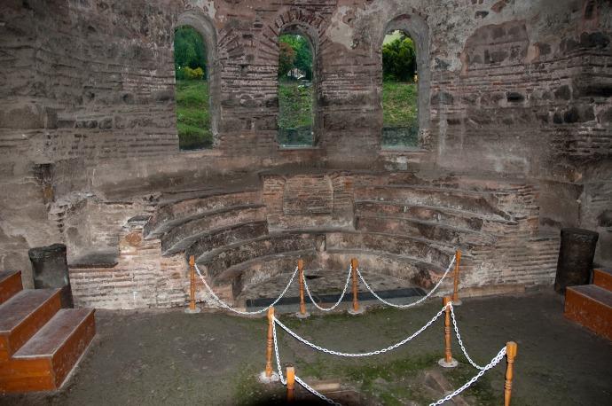 The Patriarchal Throne in the Hagia Sophia, Nicaea