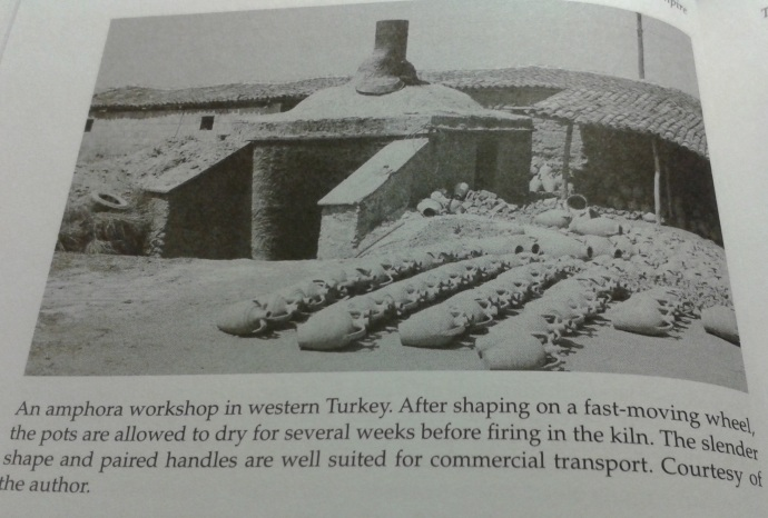 Amphora workshop in Western Turkey (From Daily Life in the Byzantine Empire by Marcus Rautman)
