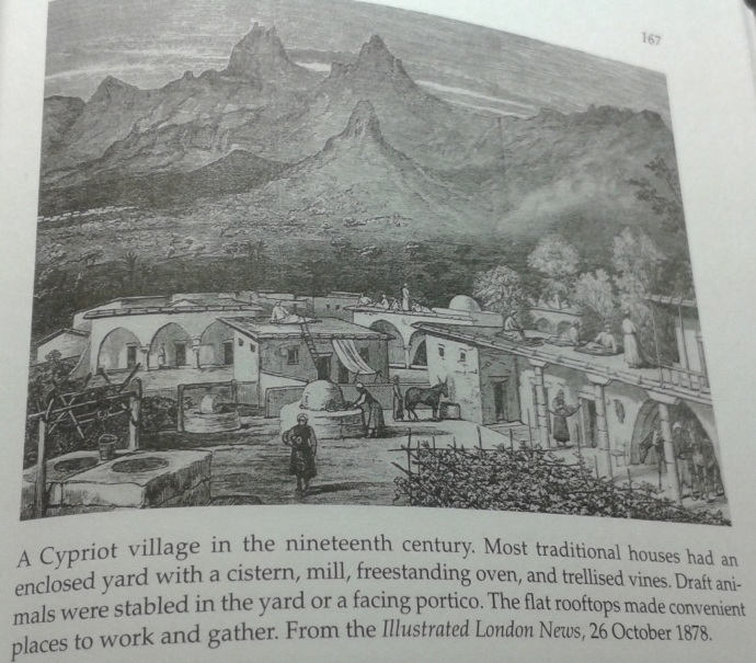Cypriot village in the 19th century (From Daily Life in the Byzantine Empire by Marcus Rautman)