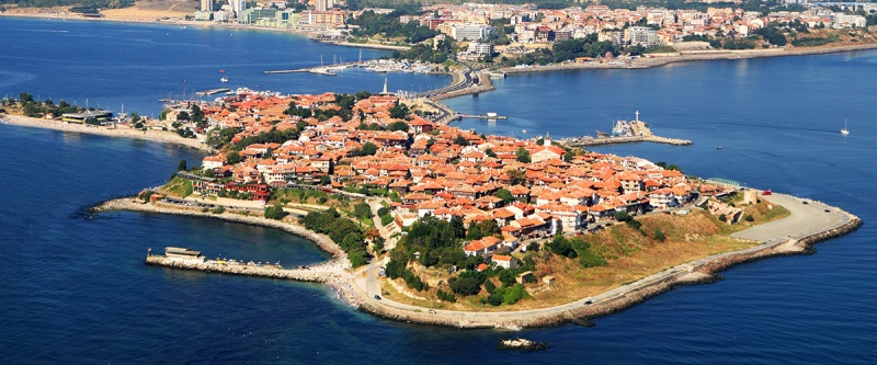 The site of Mesembria (modern Nesebar) from visitnessebar.org