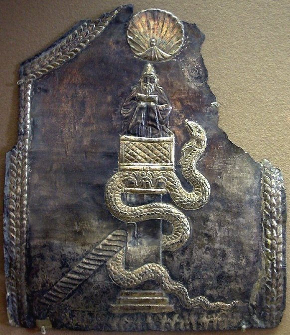 Plaque of Symeon (in the Louvre)