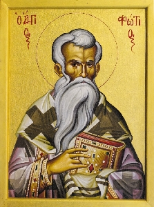 Photius the Patriarch of Constantinople (iconograms.org)