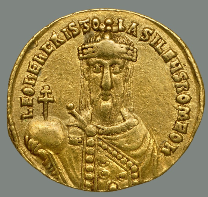 Leo VI (Dumbarton Oaks coin collection)