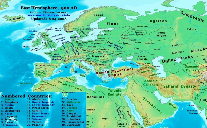 Europe and the Near East 900AD (worldhistorymaps.info)