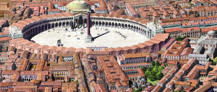 The Forum of Constantine by Antoine Helbert (antoine-helbert.com)