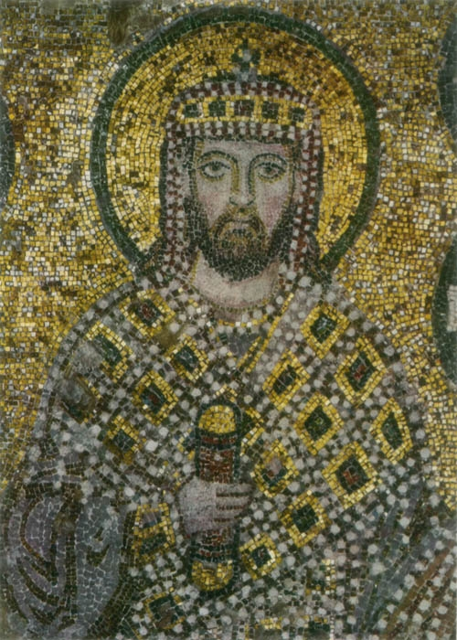 Mosaic of Alexander from the Hagia Sophia