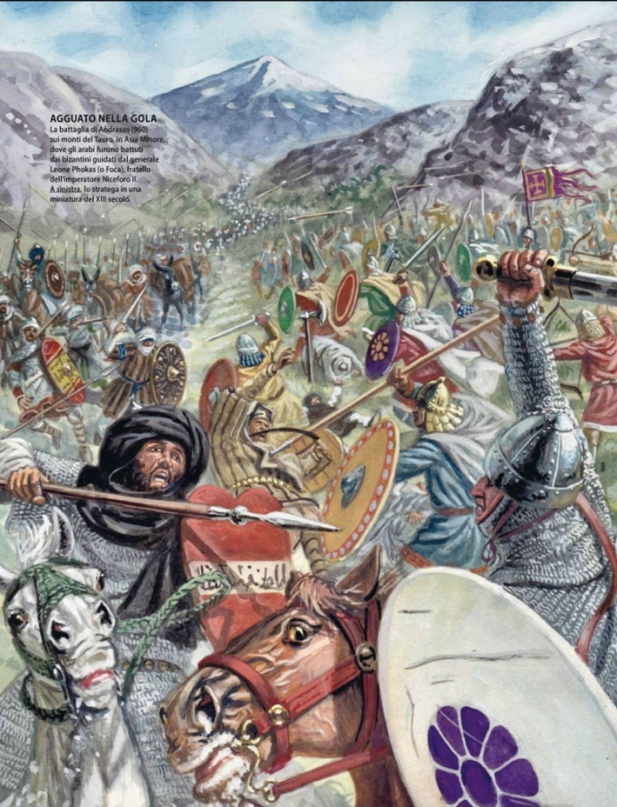 960 - Battle of Andrassus, Leo ambushes Sayf (weaponsandwarfare.com)
