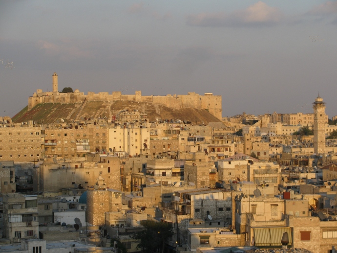 The Citadel of Aleppo (wikipedia)