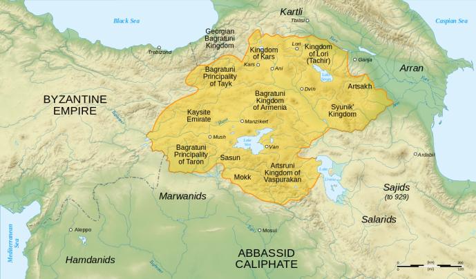 Bagratuni Armenia circa 1000