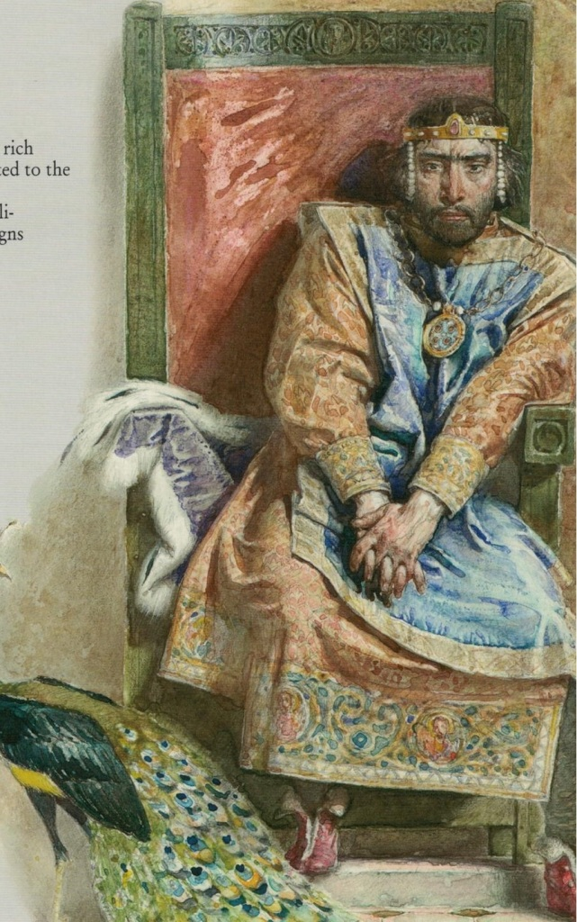 John Tzimiskes (from 'Rulers of the Byzantine Empire' published by KIBEA)