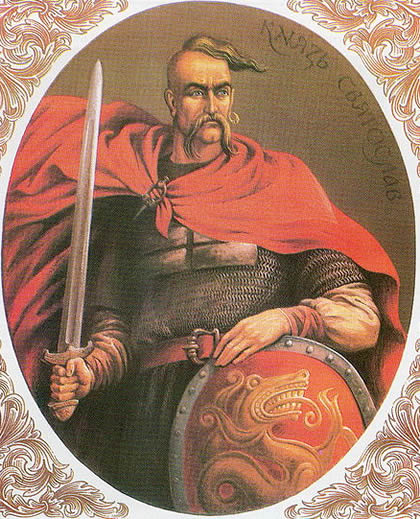 Sviatoslav of Kiev (from epicworldhistory.blogspot.co.uk)