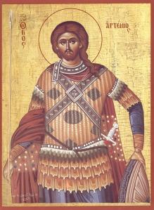 Saint Artemios (johnsanidopoulos.com)