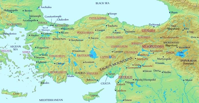 Anatolia 976AD