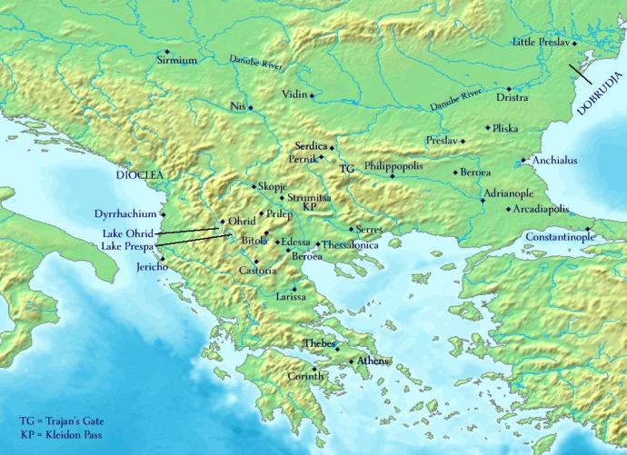 The Balkans 976 AD