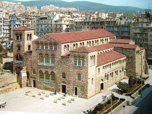 The Church of St Demetrios today