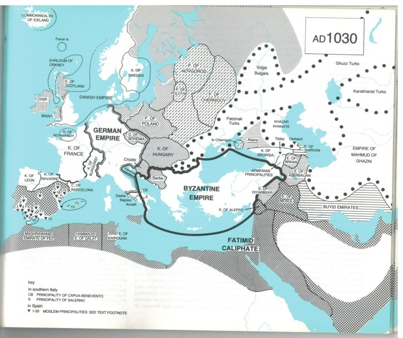 Colin McEvedy's Atlas of Medieval Europe. I love it but it is misleading