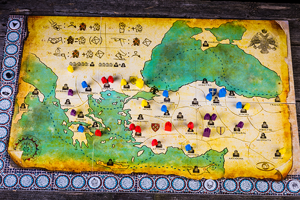Byzantio the board game