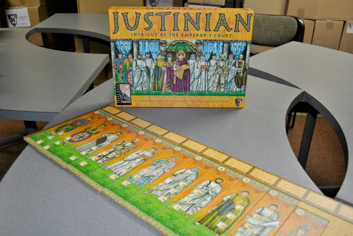 Justinian the board game