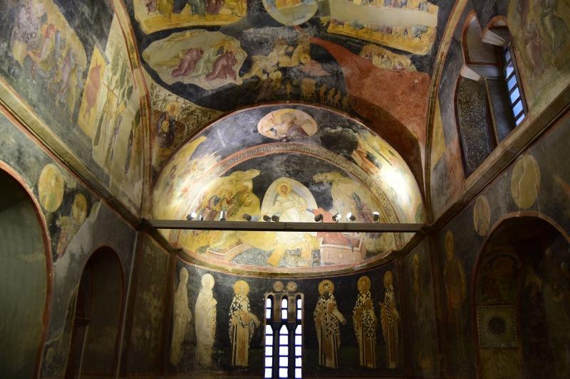 The beautiful mosaics of Chora