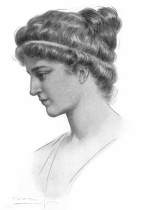 Hypatia of Alexandria by Jules Maurice Gaspar 1908