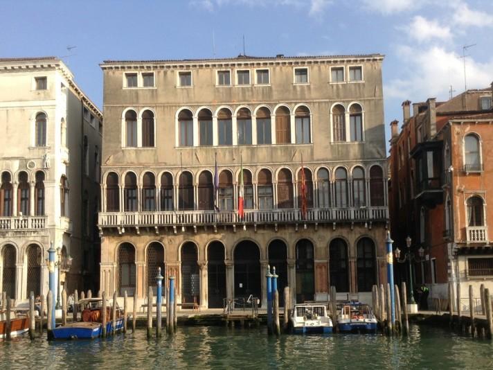 The Palazzo Farsetti in Venice, built by descendents of Enrioc Dandolo (venicetour.it)
