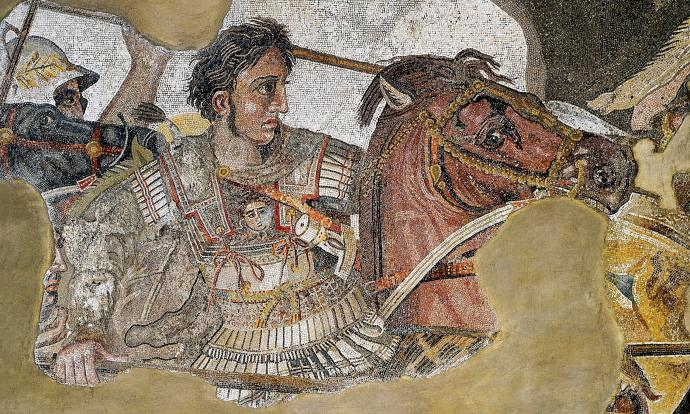 Mosaic of Alexander the Great from Pompeii