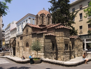 Church of Panagia Kapnikarea, Athens, c1050