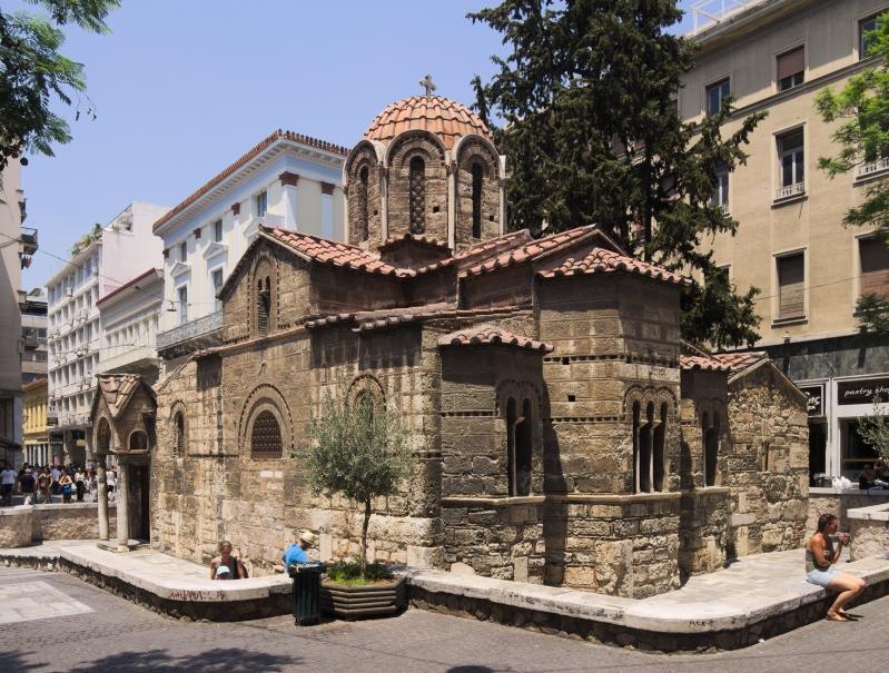 Church of Panagia Kapnikarea, Athens, c1050