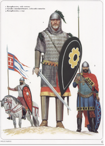 Heavy cavalry from Osprey's Byzantine Armies 886-1118