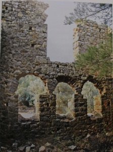 Ruins of a manor house in Caria (from the Emperors House)