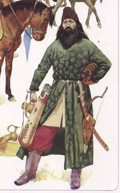 Pecheneg tribesman from Byzantine Armies 886-1118 by Osprey